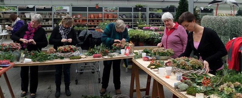 Workshop bloemschikken basis